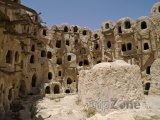 Sýpky ve městě Yafran