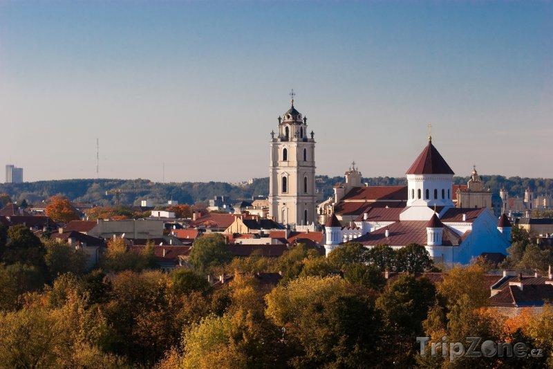 Fotka, Foto Vilnius panorama (Litva)