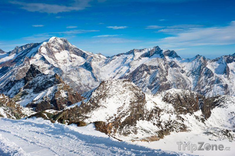 Fotka, Foto Weissmies, Walliské Alpy (Švýcarsko)