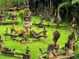 Xieng Khuan, park Budhhů ve Vientiane