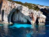 Zakynthos, Modré jeskyně