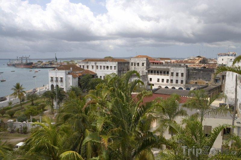 Fotka, Foto Zanzibar, panorama města (Tanzanie)