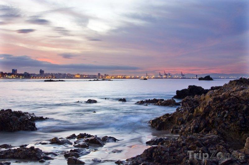Fotka, Foto Západ slunce nad Port Elizabeth (Jihoafrická republika)