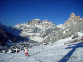 Alta Badia, horská vesnička Corvara