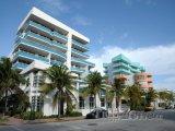 Art Deco Ocean Drive na South Beach v Miami, Florida