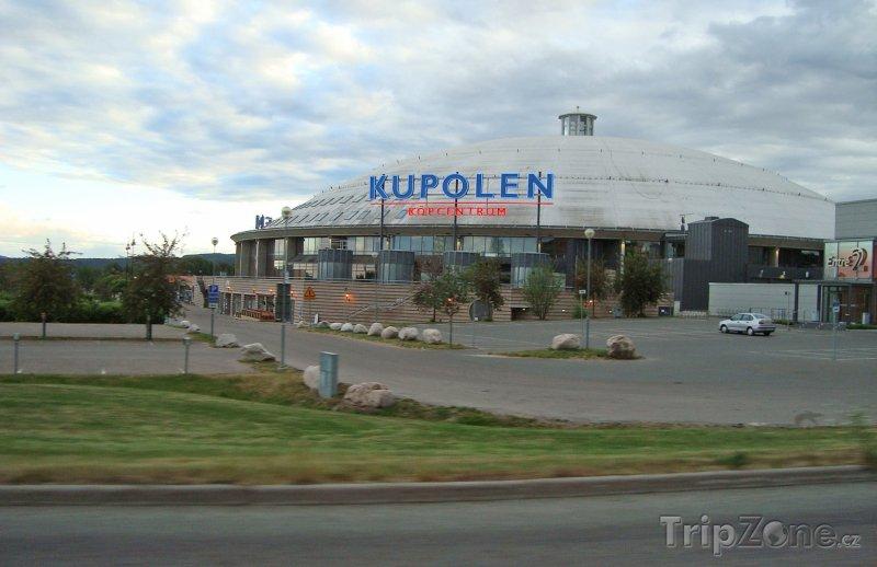 Fotka, Foto Borlänge, obchodní centrum Kupolen