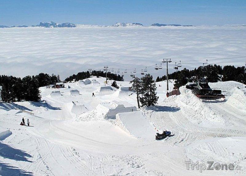Fotka, Foto Chamrousse, snowpark