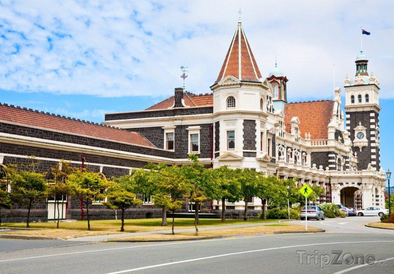 Fotka, Foto Dunedin, vlakové nádraží (Nový Zéland)