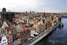 Gdaňsk, panorama města