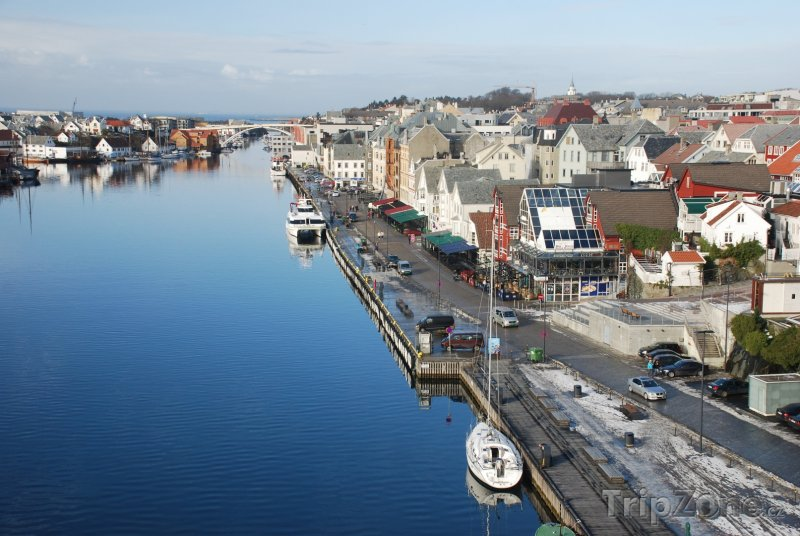Fotka, Foto Haugesund panorama (Norsko)