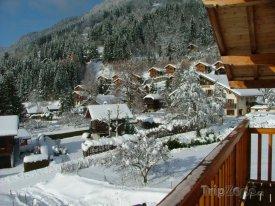 Horská vesnička Verchaix