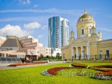 Jekatěrinburg, katedrála svaté Trojice