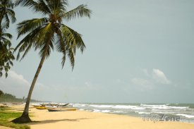 Kalutara, pláž