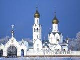 Kostel v Novosibirsku