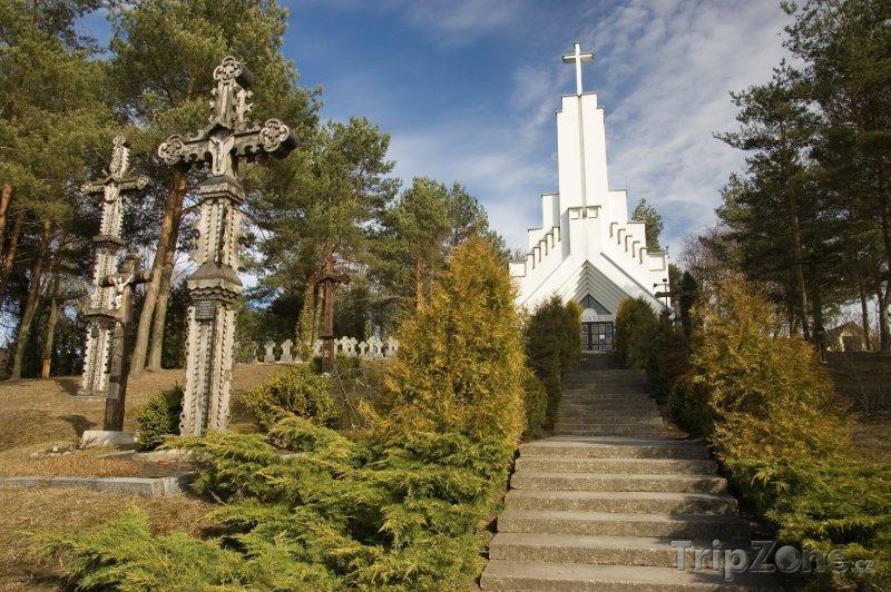 Fotka, Foto Kostel ve městě Utena (Litva)