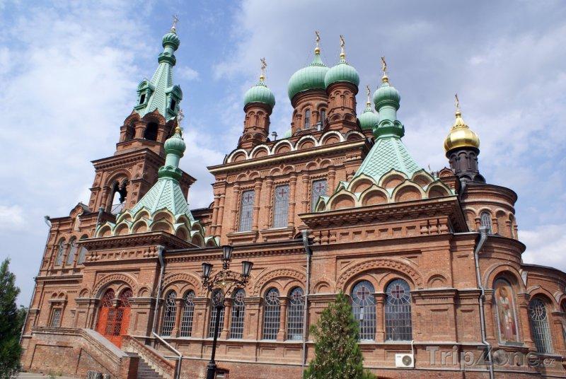 Fotka, Foto Krasnodar, katedrála svaté Kateřiny (Rusko)