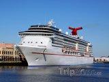 Luxusní výletní loď v Port of Tampa