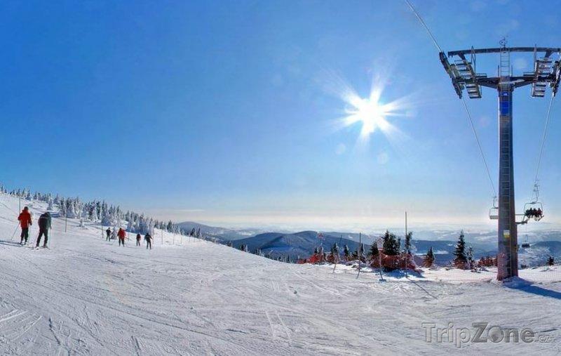 Fotka, Foto Lysá hora, Turistická sjezdovka