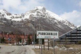 Lyžařská vesnička Piancavallo