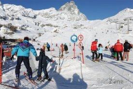 Lyžařské středisko Breuil-Cervinia