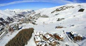 Lyžařské středisko Les Menuires