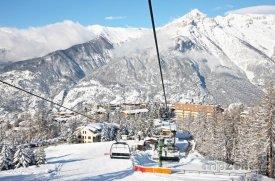 Lyžařské středisko Sauze d'Oulx-Jouvencaux