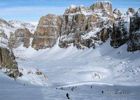 Lyžařské středisko Sella Ronda