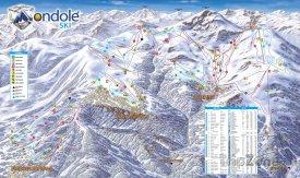 Mapa lyžařského střediska Prato Nevoso
