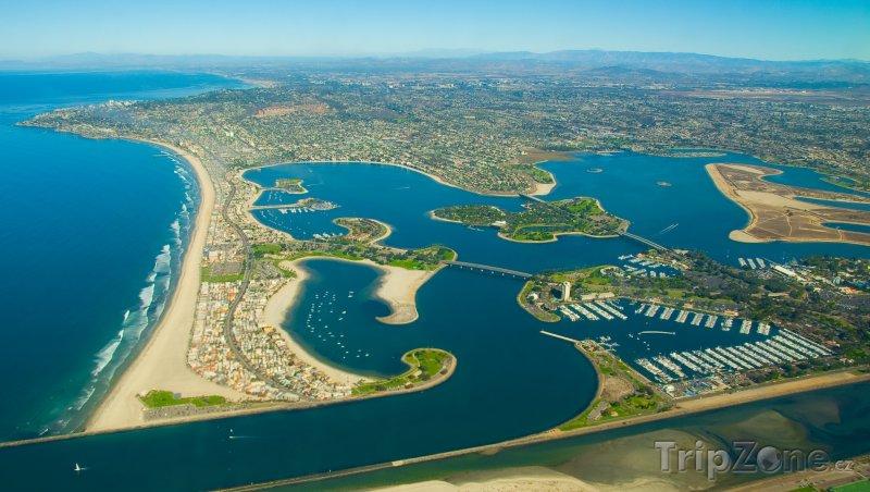 Fotka, Foto Mission Bay panorama (San Diego, USA)