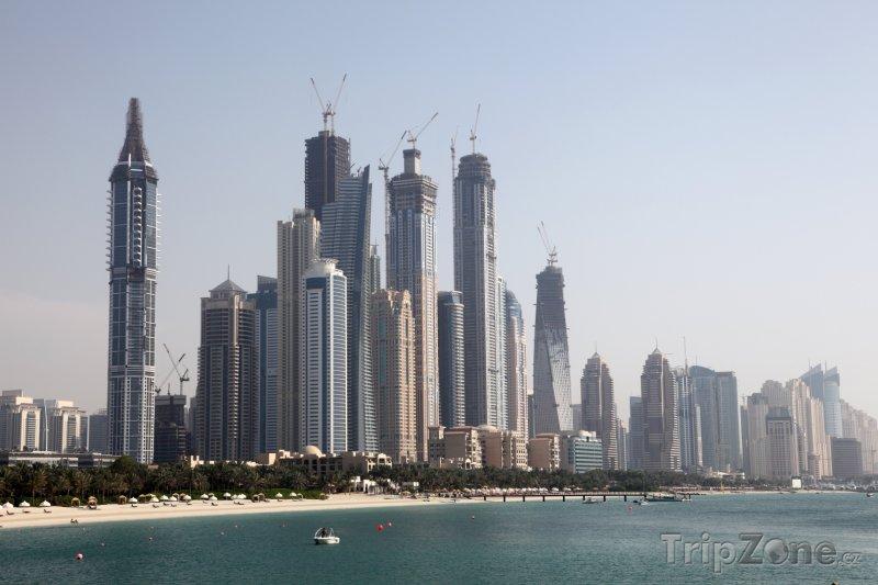 Fotka, Foto Mrakodrapy v části Dubai Marina (Dubaj, Spojené arabské emiráty)