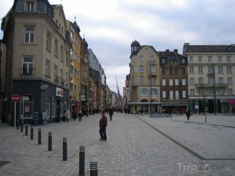 Fotka, Foto Náměstí v Esch-sur-Alzette