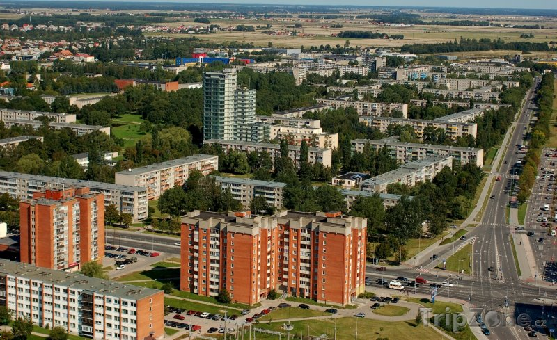Fotka, Foto Panorama města Klajpeda (Litva)
