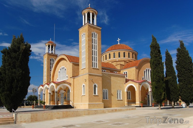 Fotka, Foto Paralimni, klášter (Kypr)