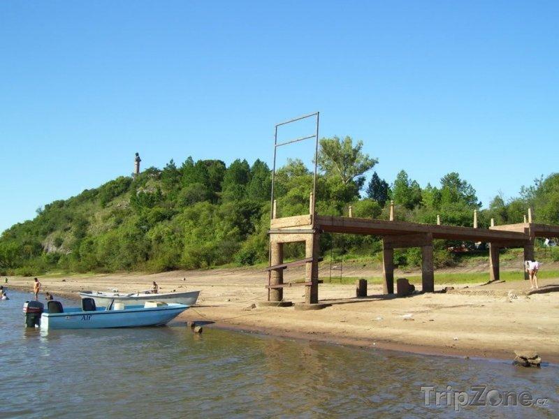 Fotka, Foto Paysandú, molo na pláži