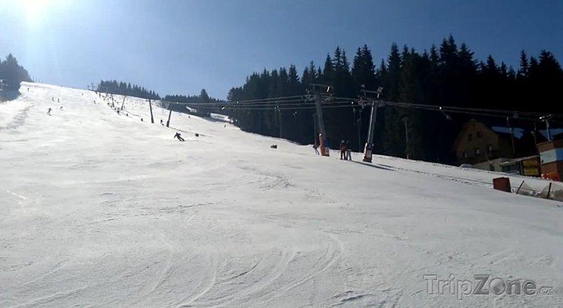 Fotka, Foto Pec pod Sněžkou, sjezdovka Javor