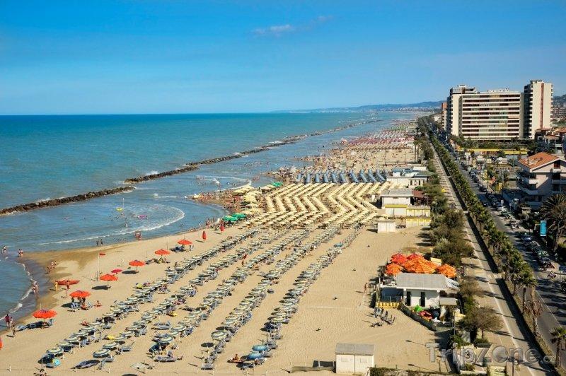 Fotka, Foto Pescara, pobřeží (Itálie)