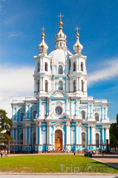 Fotka, Foto Petrohrad, Smolenská katedrála (Rusko)