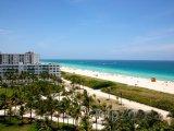 Pohled na South Beach v Miami na Floridě