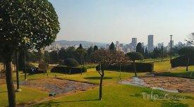 Pretoria,zahrada pod Union Buildings