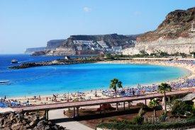 Puerto Rico de Gran Canaria, pláž Playa Amadores