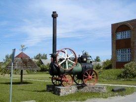 Saldus, historická lokomotiva