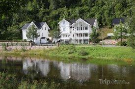 Sandvika, staré dřevěné domy