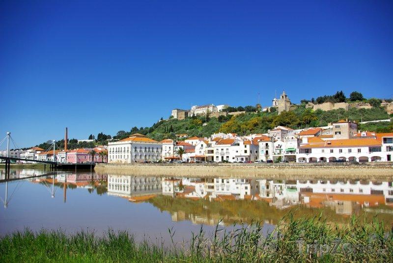 Fotka, Foto Setúbal, řeka Sado Estuara (Portugalsko)