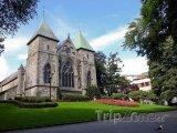 Stavanger, katedrála Stavanger Domkirke