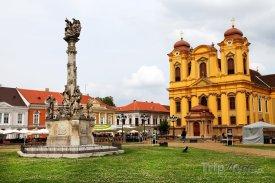 Temešvár, náměstí Piaţa Unirii