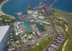 Toamasina, přístav