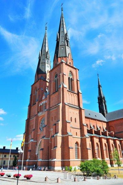 Fotka, Foto Uppsala, katedrála