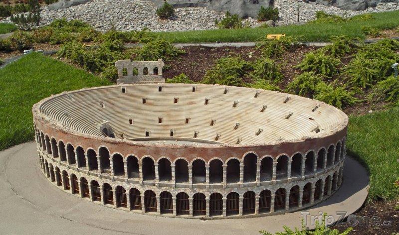 Fotka, Foto Veronská Aréna (Verona, Itálie)