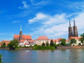 Wroclaw, řeka Odra