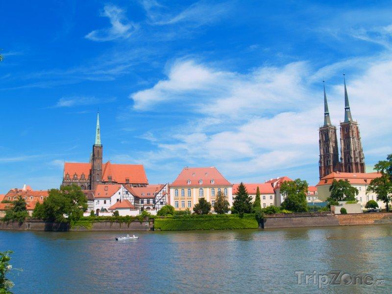 Fotka, Foto Wroclaw, řeka Odra (Polsko)